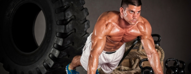 crossfit y entrenamiento de musculación