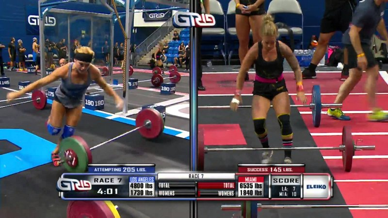 NPGL- Liga profesional fitness