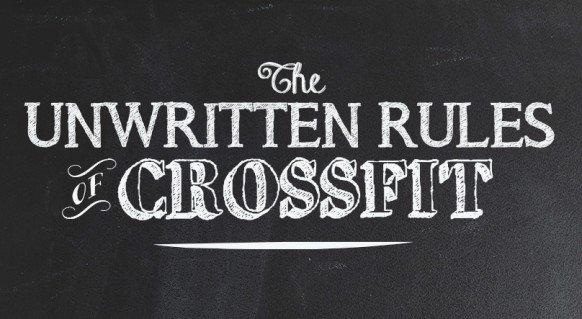 Reglas no escritas del crossfit