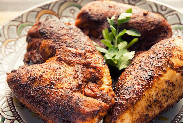Receta Paleo: Pollo al horno con especias