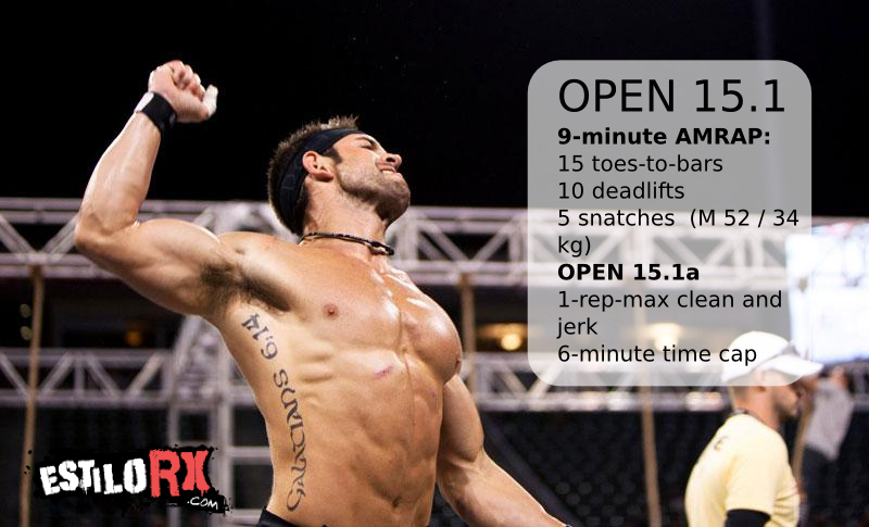 Workout Open 15.1