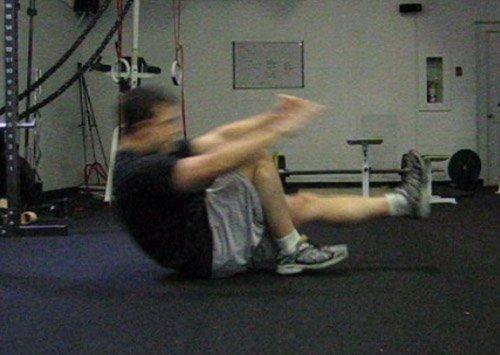 Movimiento con balanceo