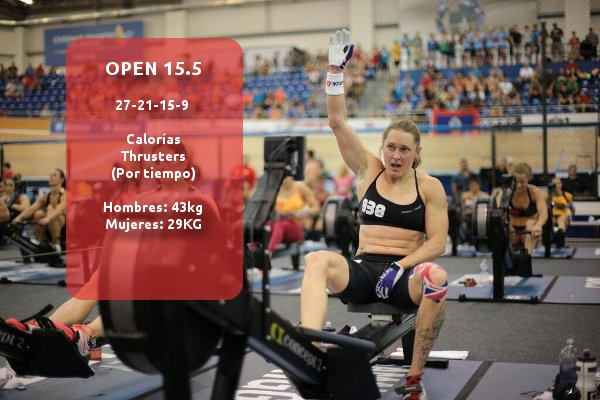 CrossFit Games Open 15.5