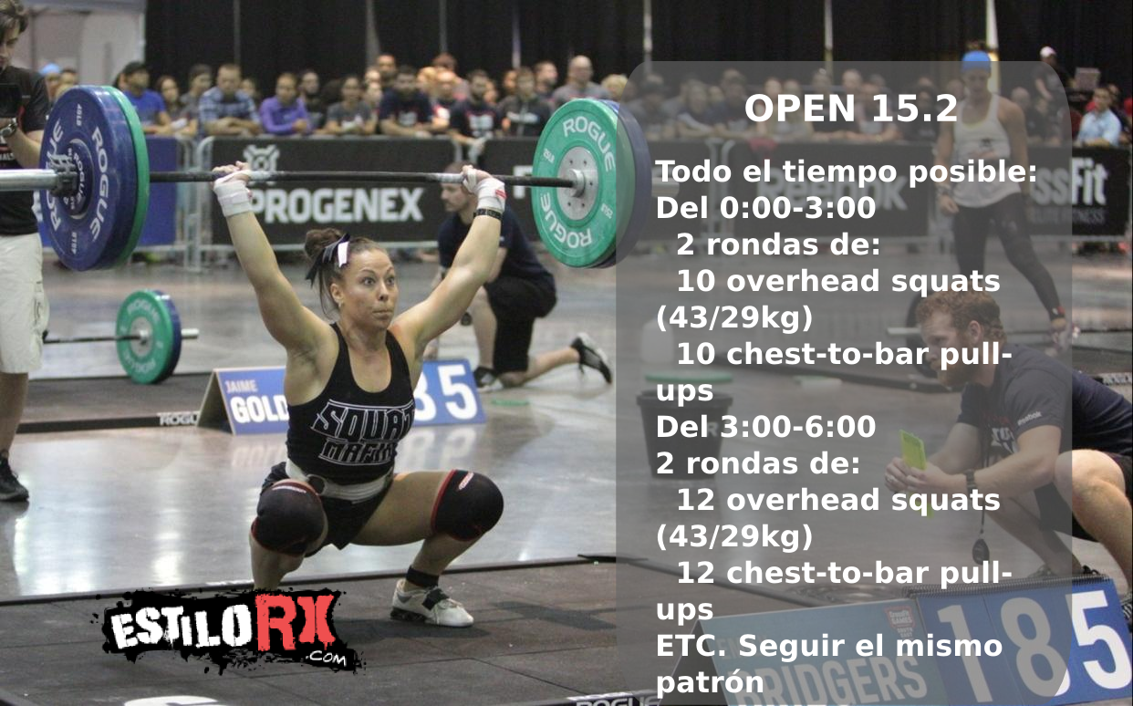 CrossFit Games 2015: Open 15.2