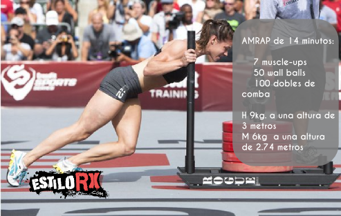 Open 15.3 crossfit games