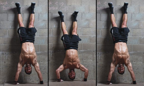 HSPU's (Handstand Push Up) o flexiones invertidas