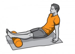 Glúteo Mayor con foam roller