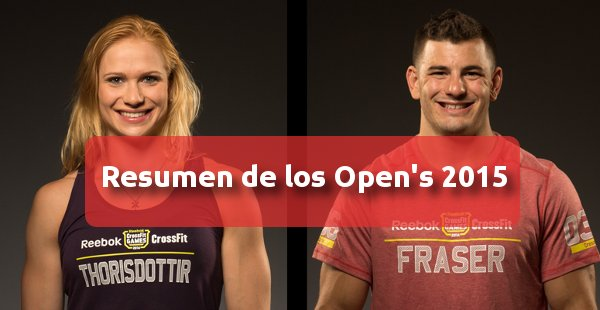 CrossFit Games 2015: Resumen de los Open's 2015