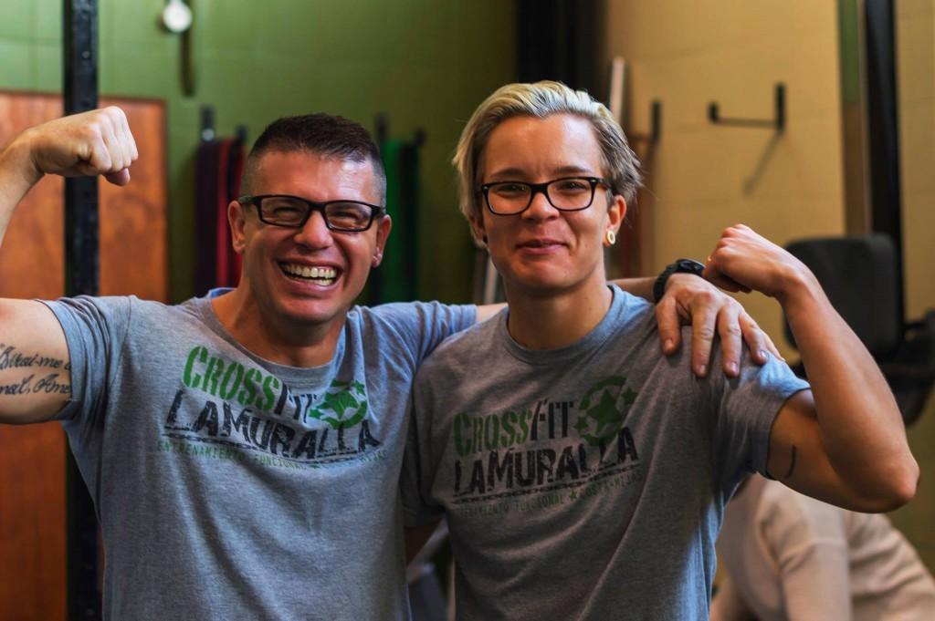 Cristian Martín y Anu Peltokangas
