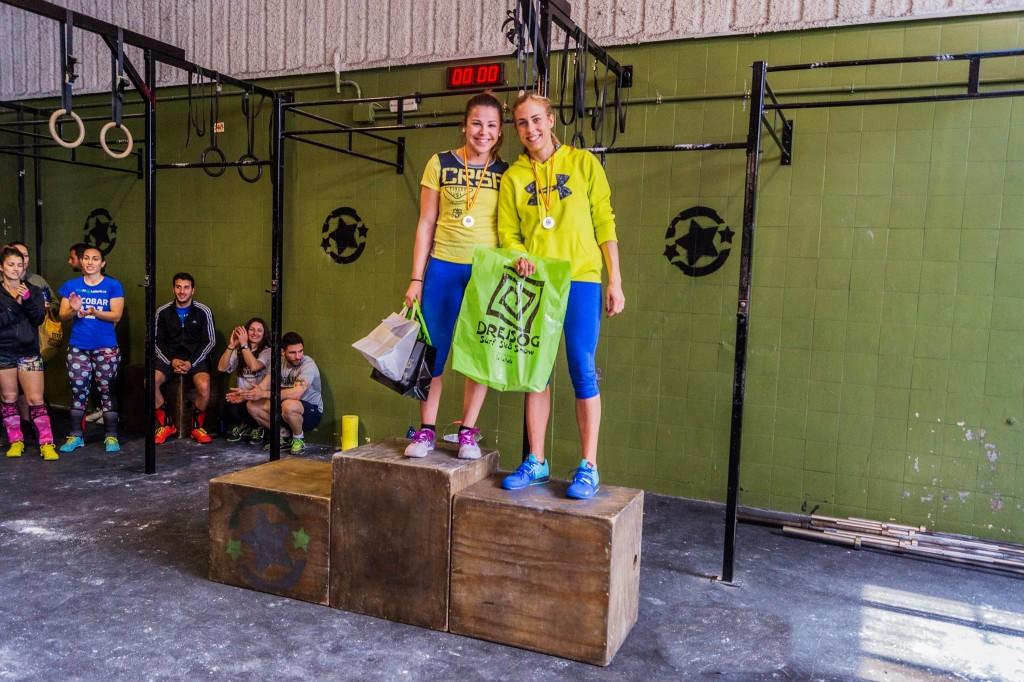 Ganadoras en la Categoría Femenina