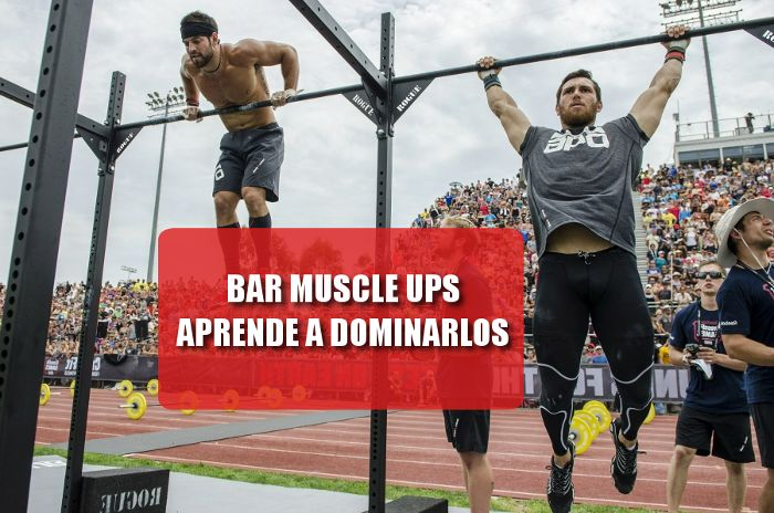 Bar muscle ups en crossfit