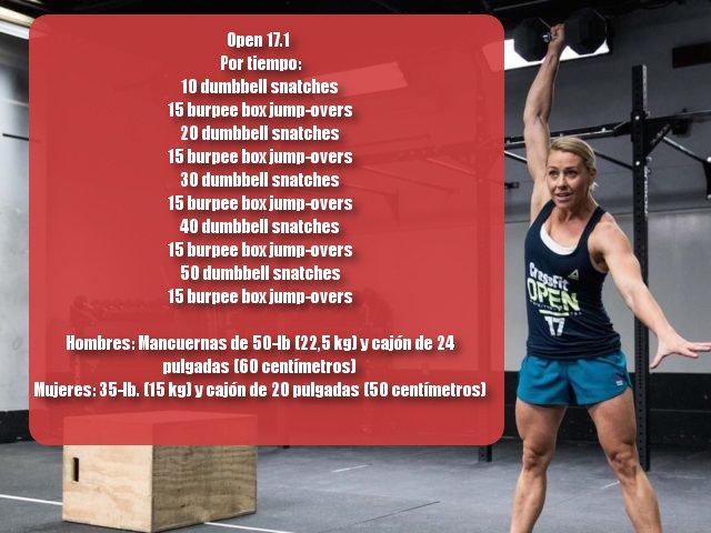 Open 17.1 CrossFit